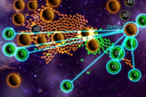 Download Galcon legends iPhone free game.