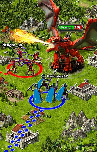 Download Game of war: Fire age iPhone free game.