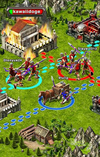 Free Game of war: Fire age download for iPhone, iPad and iPod.