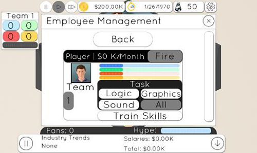Descarga gratuita de Game studio tycoon 2 para iPhone, iPad y iPod.