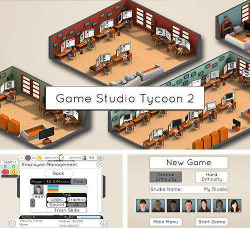 In addition to the game Zombies race plants for iPhone, iPad or iPod, you can also download Game studio tycoon 2 for free.