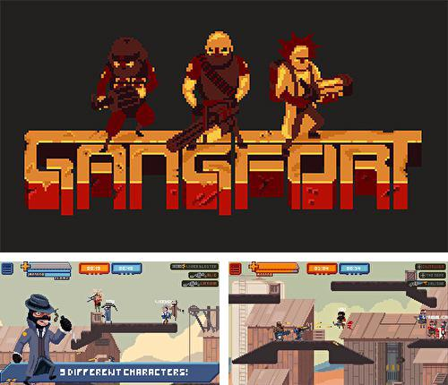 In addition to the game Mobile strike for iPhone, iPad or iPod, you can also download Gangfort for free.
