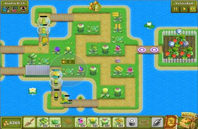 Screenshots of the Garden Rescue game for iPhone, iPad or iPod.