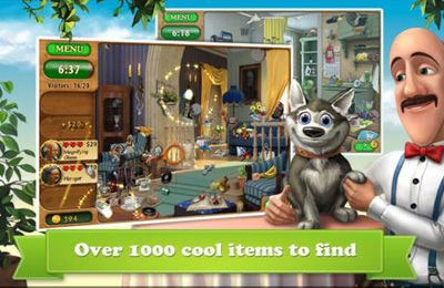 Download Gardenscapes iPhone free game.