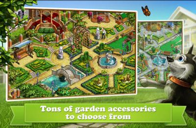 Free Gardenscapes download for iPhone, iPad and iPod.