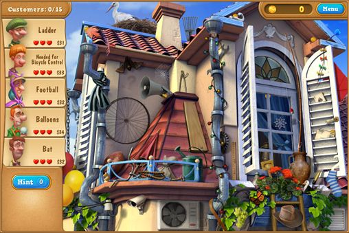 Screenshots of the Gardenscapes 2 game for iPhone, iPad or iPod.