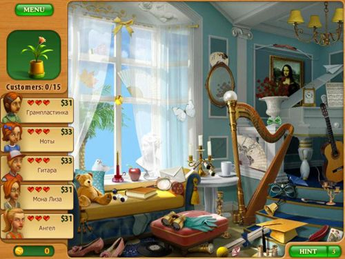 Screenshots vom Spiel Gardenscapes: Mansion makeover für iPhone, iPad oder iPod.