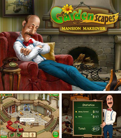 除了 iPhone、iPad 或 iPod 游戏,您还可以免费下载Gardenscapes: Mansion makeover, 。