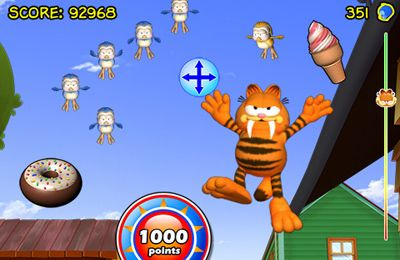 Скачать Garfield Bird Crazy на iPhone бесплатно