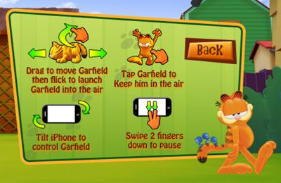 Игра Garfield Bird Crazy для iPhone