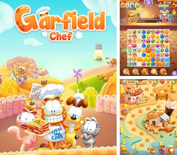 In addition to the game Monster Zombie: The Birth of Heroes for iPhone, iPad or iPod, you can also download Garfield chef: Game of food for free.