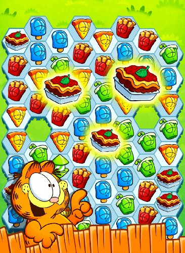 Descarga gratuita de Garfield snack time para iPhone, iPad y iPod.