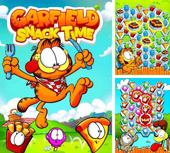 In addition to the game Pure skate for iPhone, iPad or iPod, you can also download Garfield snack time for free.