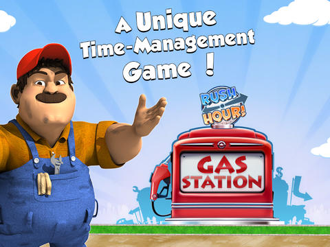 Gas Station – Rush Hour!