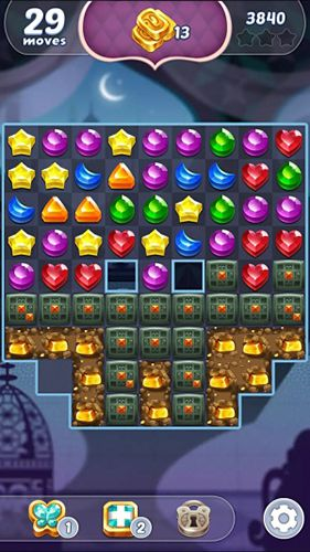 Screenshots of the Genies and gems game for iPhone, iPad or iPod.