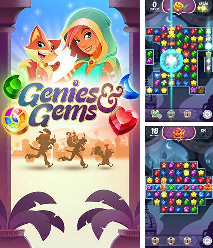 In addition to the game Ski Sport Pro for iPhone, iPad or iPod, you can also download Genies and gems for free.