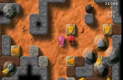 Capturas de pantalla del juego Genius Greedy Mouse para iPhone, iPad o iPod.
