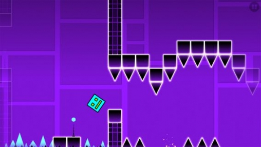 Free Geometry dash download for iPhone, iPad and iPod.