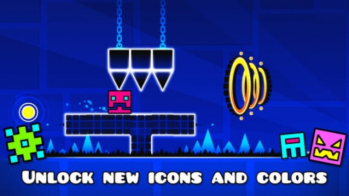 Screenshots do jogo Geometry dash para iPhone, iPad ou iPod.