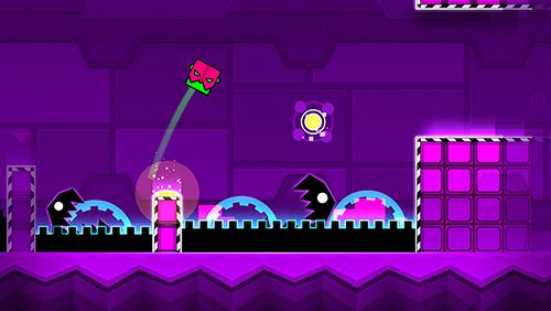 Download Geometry dash: Meltdown iPhone free game.