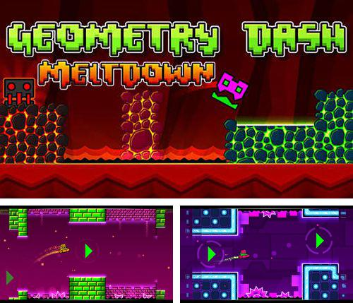 In addition to the game MonsterDefense 3D for iPhone, iPad or iPod, you can also download Geometry dash: Meltdown for free.
