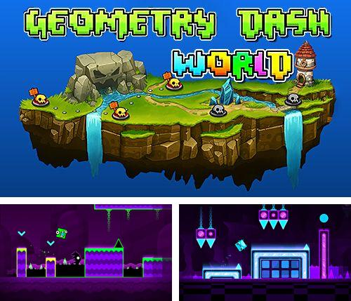 In addition to the game Fotonica for iPhone, iPad or iPod, you can also download Geometry dash world for free.