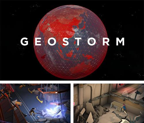 In addition to the game The 7D: Mine train for iPhone, iPad or iPod, you can also download Geostorm for free.