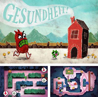 In addition to the game Nuts! The battle of the bulge for iPhone, iPad or iPod, you can also download Gesundheit! for free.