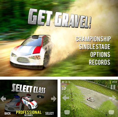In addition to the game Bugs vs. aliens for iPhone, iPad or iPod, you can also download Get Gravel! for free.
