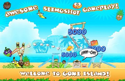Screenshots of the Get Off My Island! game for iPhone, iPad or iPod.