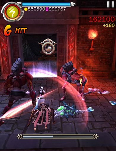 Screenshots of the Ghost blade game for iPhone, iPad or iPod.