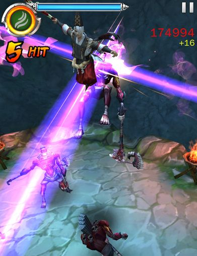 Capturas de pantalla del juego Ghost blade para iPhone, iPad o iPod.