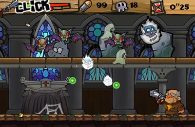 Descarga gratuita del juego Fantasmas y Zombies para iPhone.