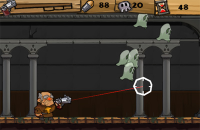 Capturas de pantalla del juego Ghost n Zombies para iPhone, iPad o iPod.