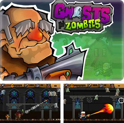 Download Ghost n Zombies iPhone free game.