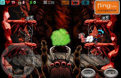 Capturas de pantalla del juego Ghost Ninja: Zombie Beatdown para iPhone, iPad o iPod.