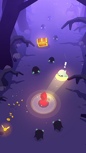 Screenshots of the Ghost pop! game for iPhone, iPad or iPod.