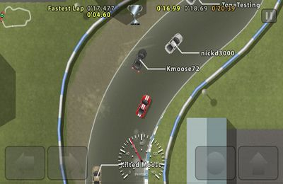 Download Ghost Racer iPhone free game.