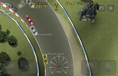 Screenshots of the Ghost Racer game for iPhone, iPad or iPod.