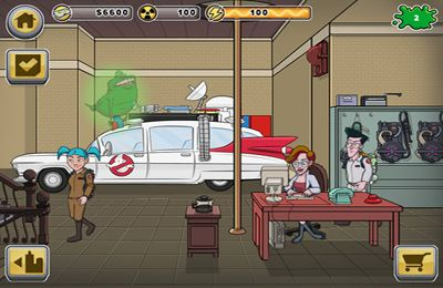 Screenshots of the Ghostbusters game for iPhone, iPad or iPod.