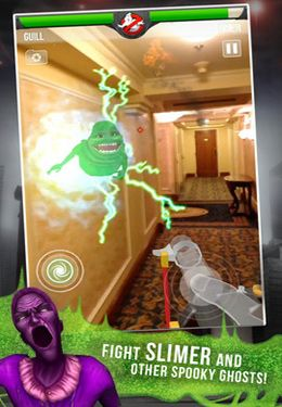 Descarga gratuita de Ghostbusters Paranormal Blast para iPhone, iPad y iPod.