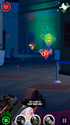 Download Ghostbusters: Slime city iPhone free game.
