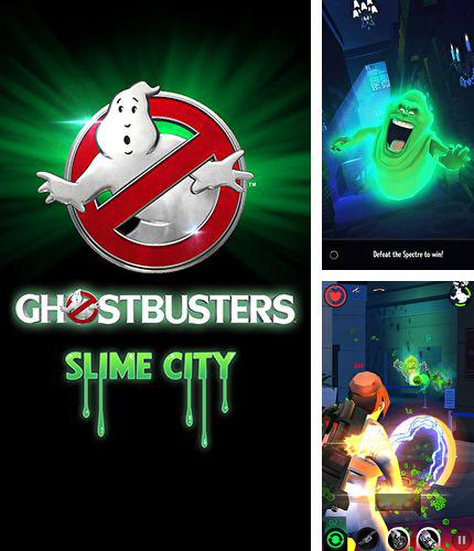 除了 iPhone、iPad 或 iPod 洞穴游戏,您还可以免费下载Ghostbusters: Slime city, 。