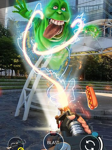 Screenshots do jogo Ghostbusters world para iPhone, iPad ou iPod.