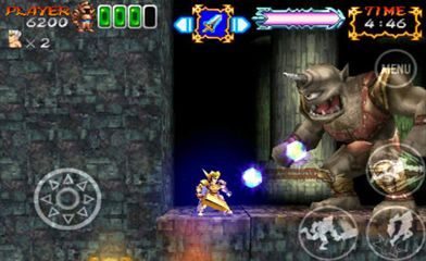 Screenshots of the Ghosts'n Goblins Gold Knights 2 game for iPhone, iPad or iPod.