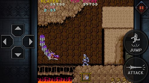 Download Ghosts'n goblins mobile iPhone free game.