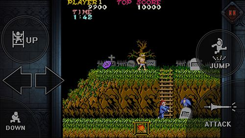 Free Ghosts'n goblins mobile download for iPhone, iPad and iPod.