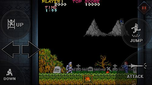 Screenshots vom Spiel Ghosts'n goblins mobile für iPhone, iPad oder iPod.