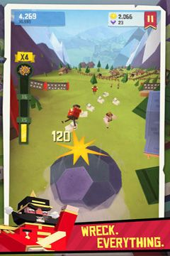Descarga gratuita de Giant Boulder of Death para iPhone, iPad y iPod.