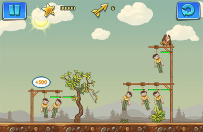 Screenshots of the Gibbets 2 game for iPhone, iPad or iPod.